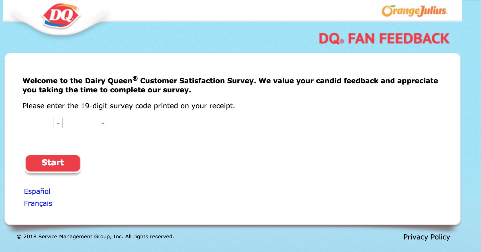 DQFanSurvey Homepage