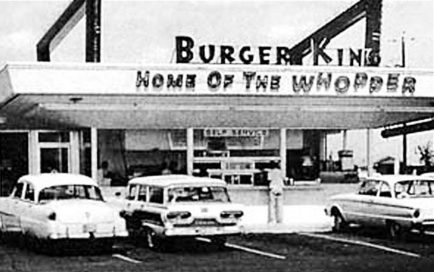 the first burger king