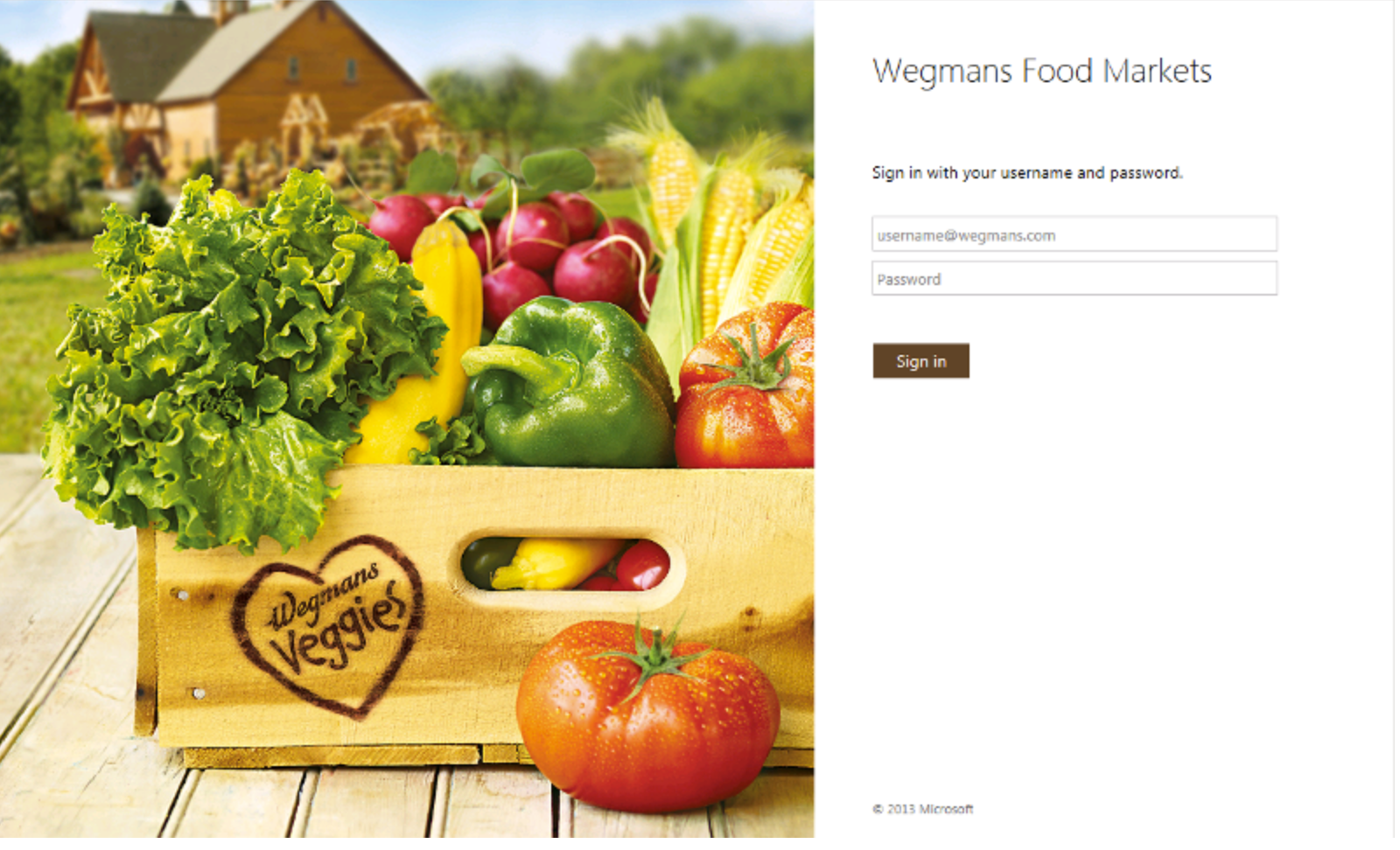 MyWegmansConnect login homepage