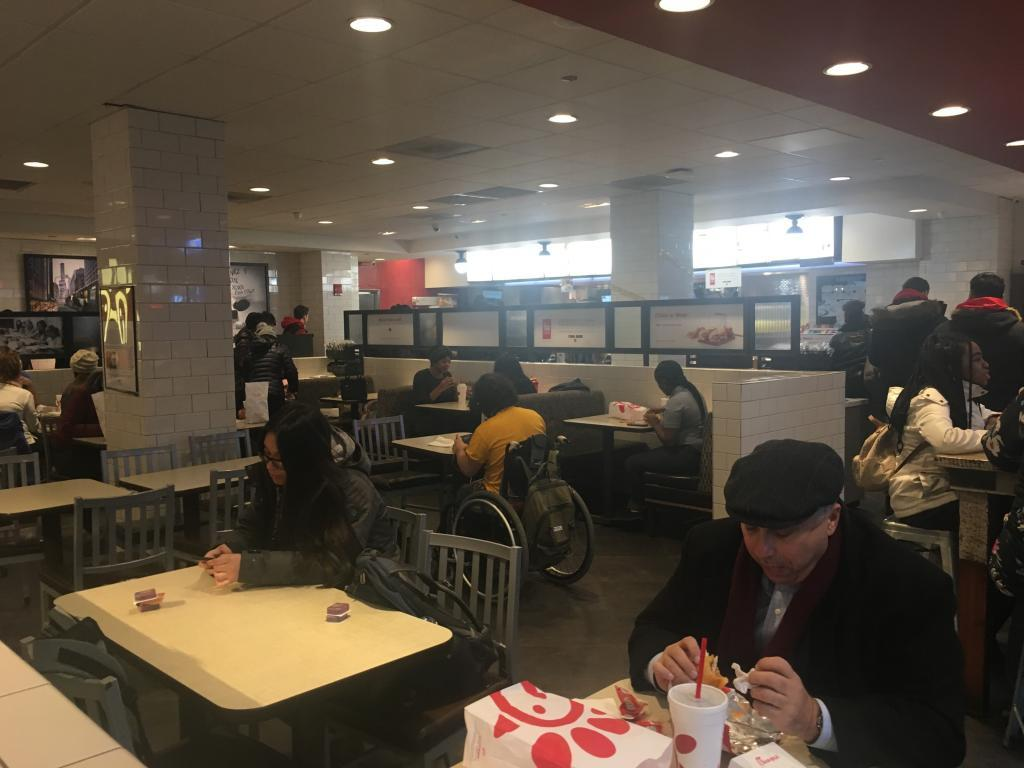 inside chick fil a