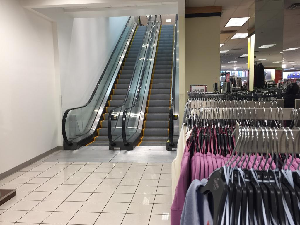 kohls escalator