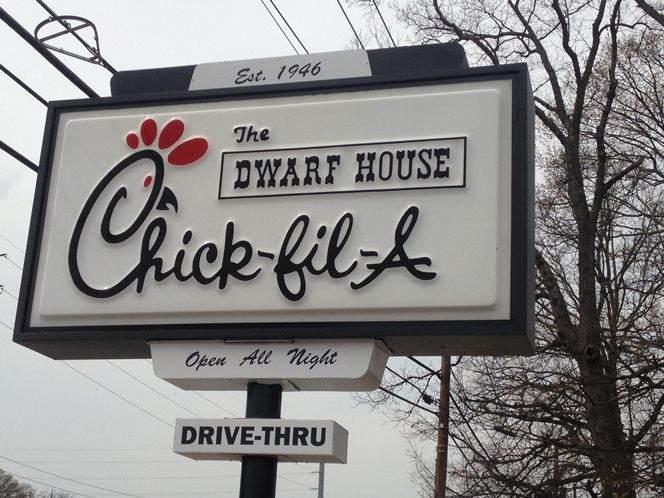 the dwarf house original chick fil a