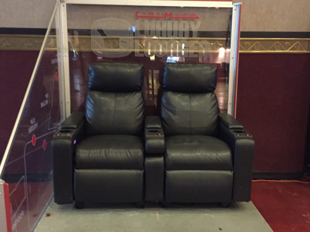 cinemark loungers