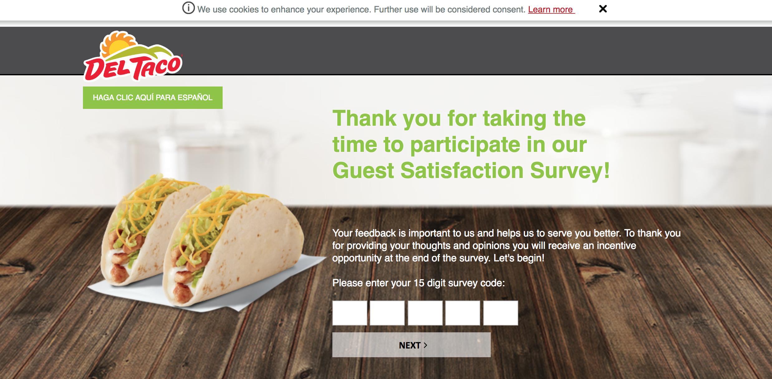 Deltaco survey