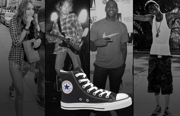 celebrities and the chuck taylor all star
