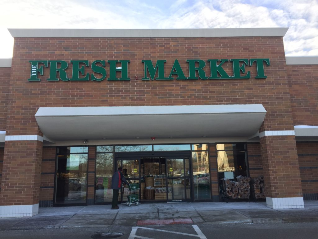contact the fresh market