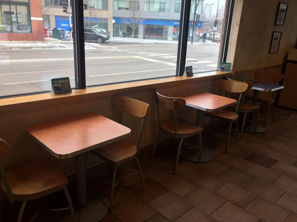 dairy queen tables