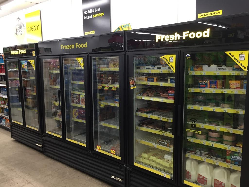 dollar general frozen food