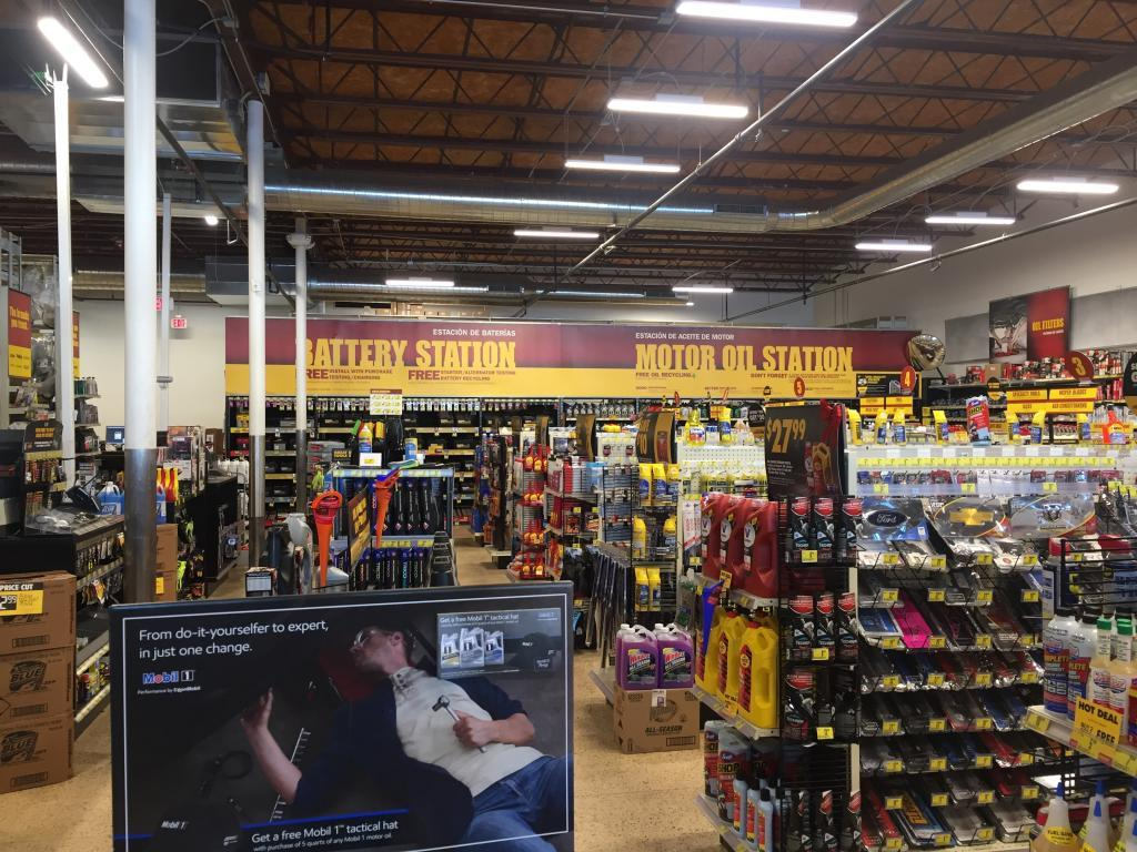 inside advance auto parts