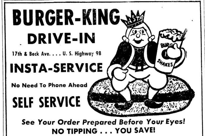 insta burger king ad