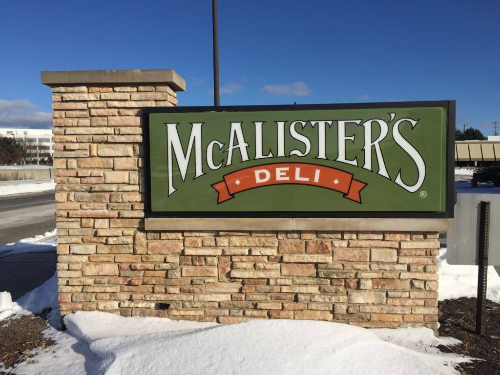 mcalisters sign