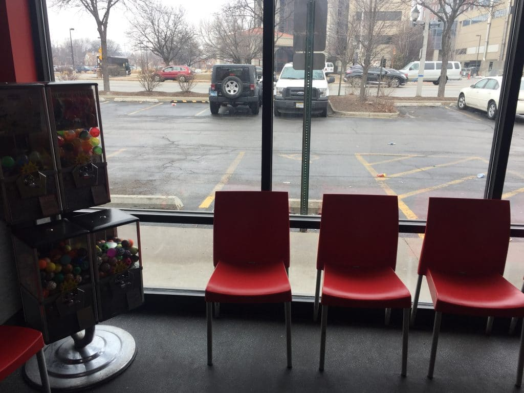 pizza hut chairs