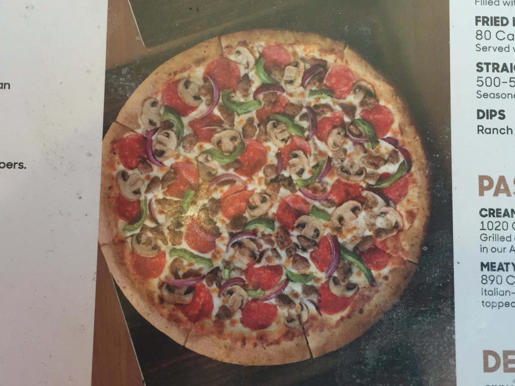 pizza hut mushroom pizza