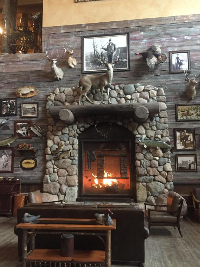 bass pro fireplace