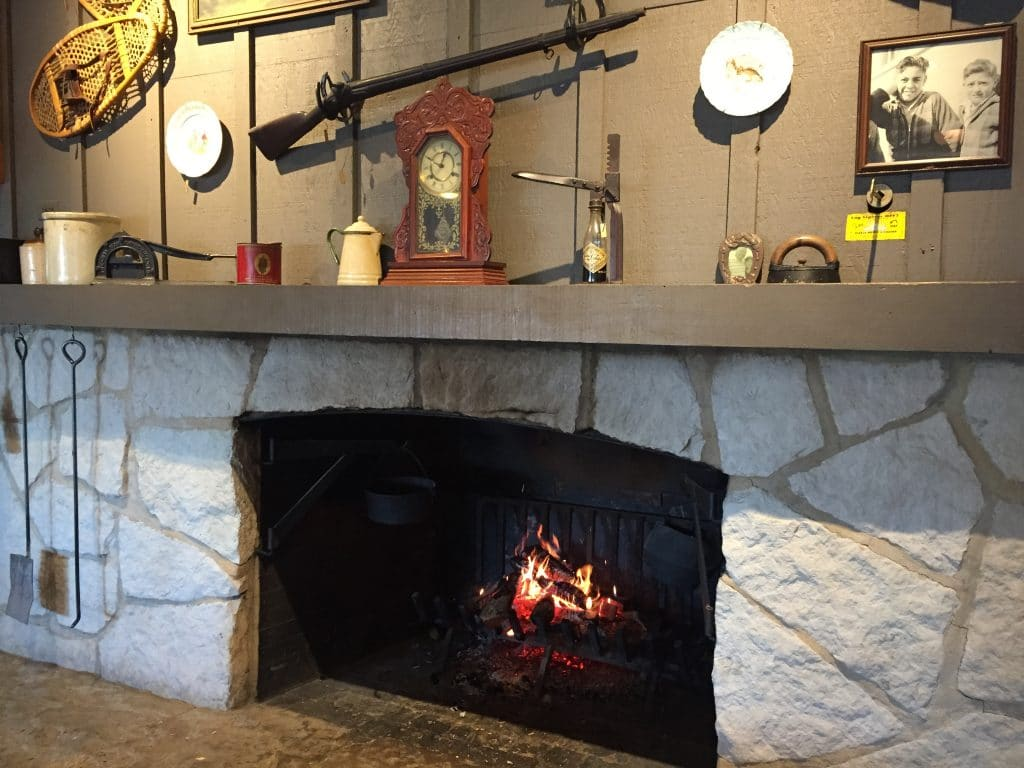 cracker barrel fireplacev