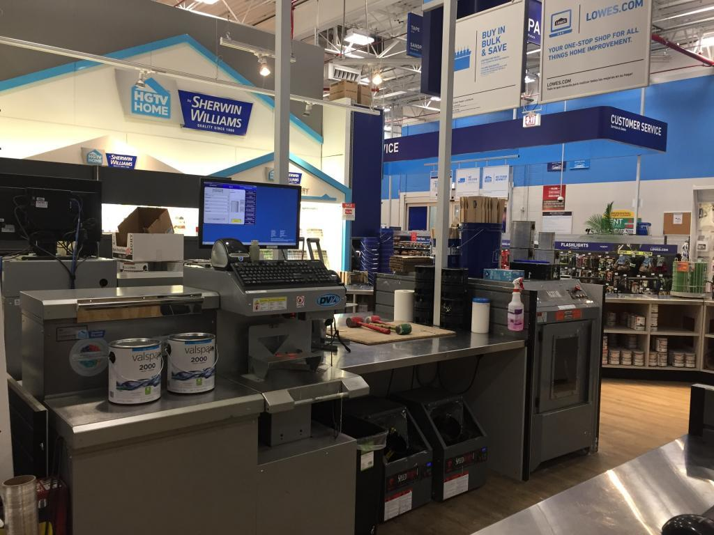 lowes cash register