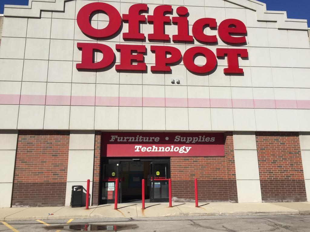 outside office depot
