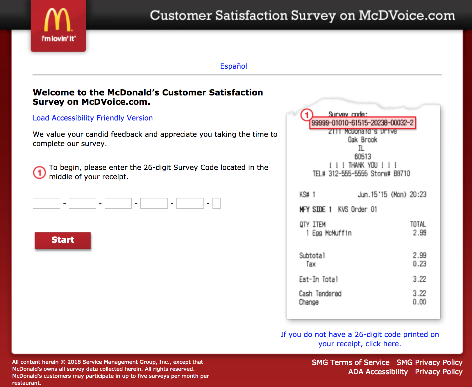 Mcdvoice Free Food