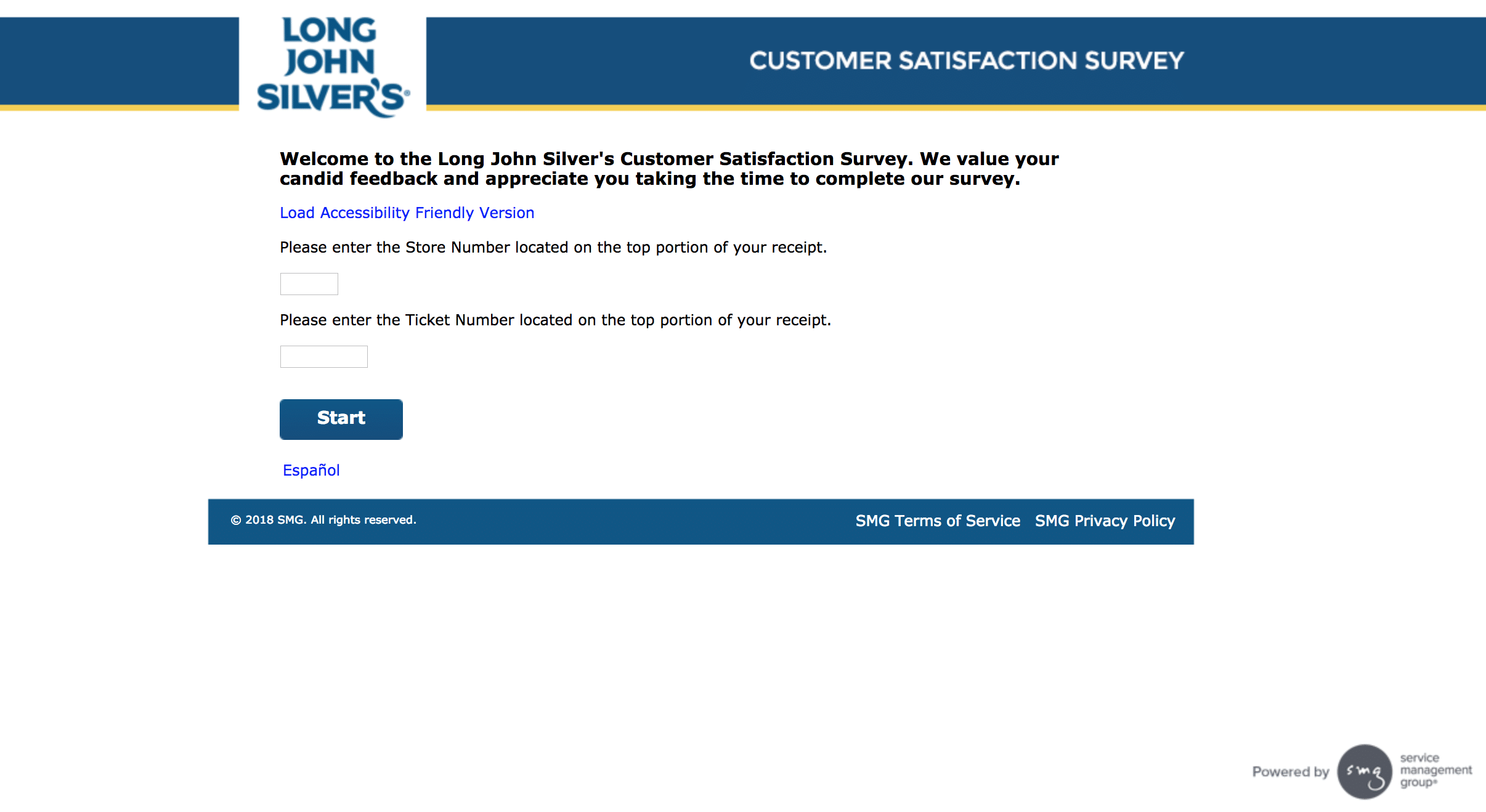 If you received a survey invitation that asking you to leave your feedback about your recent Long John Silver's experience, you can now go to the website agrariantraps.ml and follow the instructions to participate in The Long John Silver's Customer Satisfaction Survey.