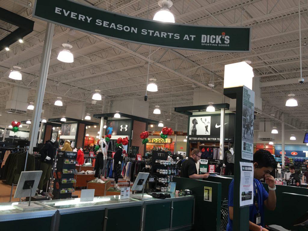 Dicks Sporting Goods Inside