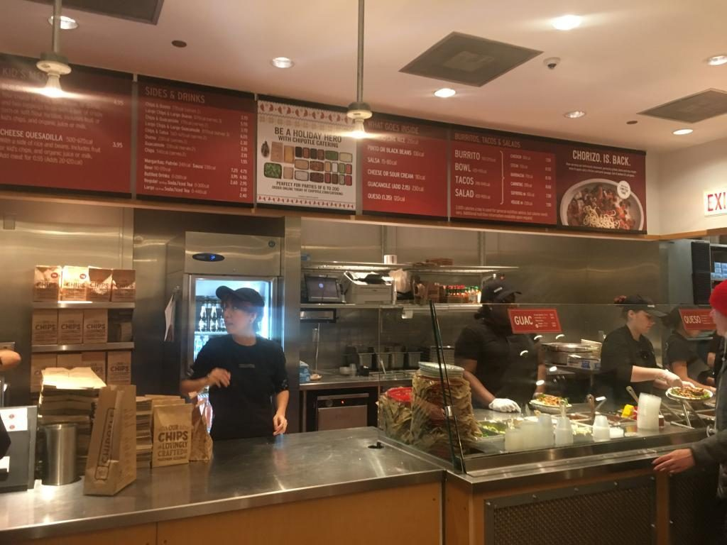 chipotle inside