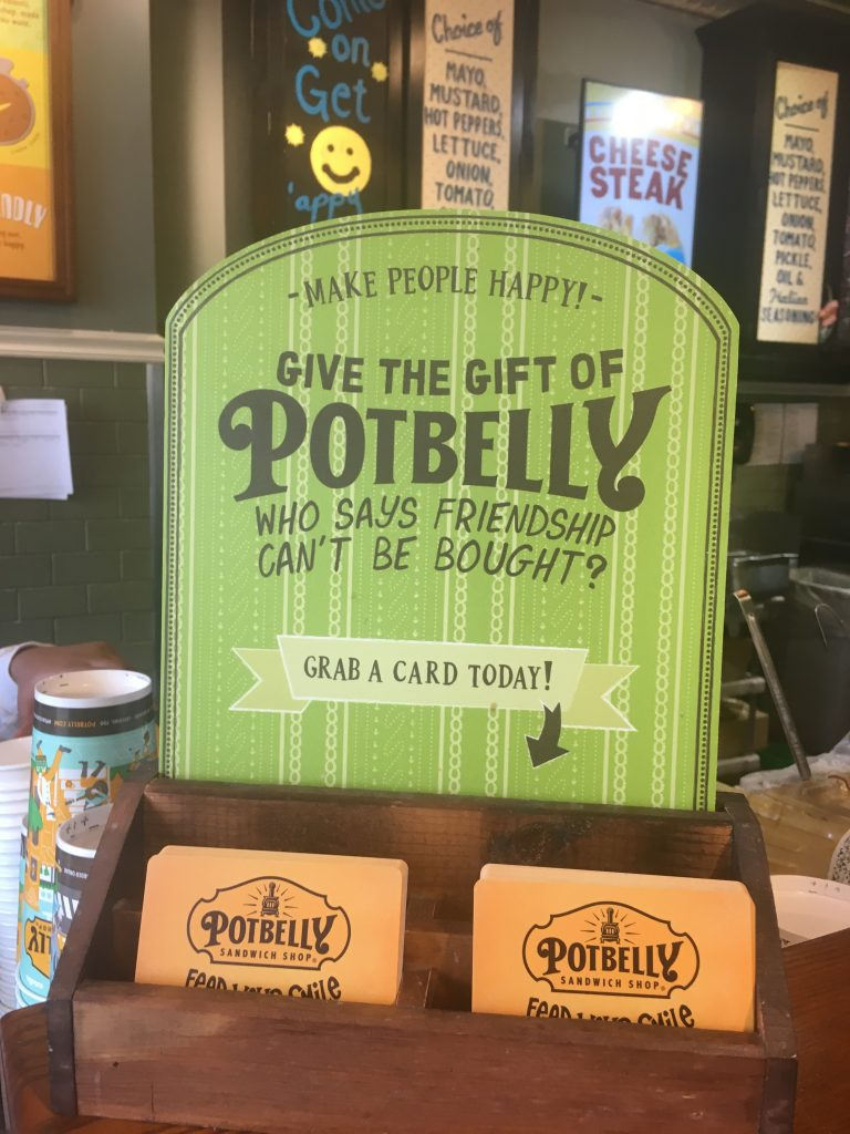 potbelly gift cards