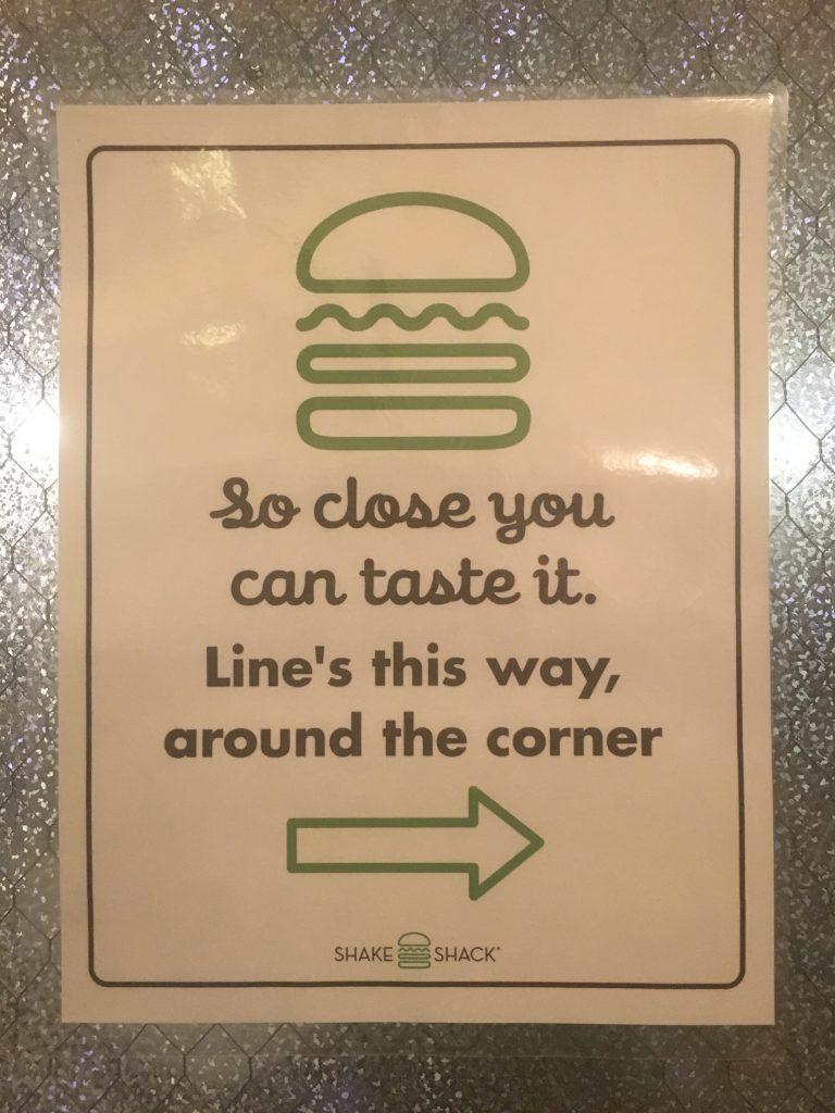 shake shack line