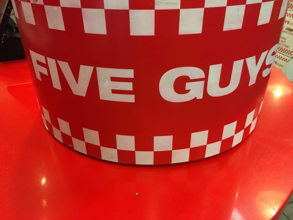 www.fiveguys.com survey