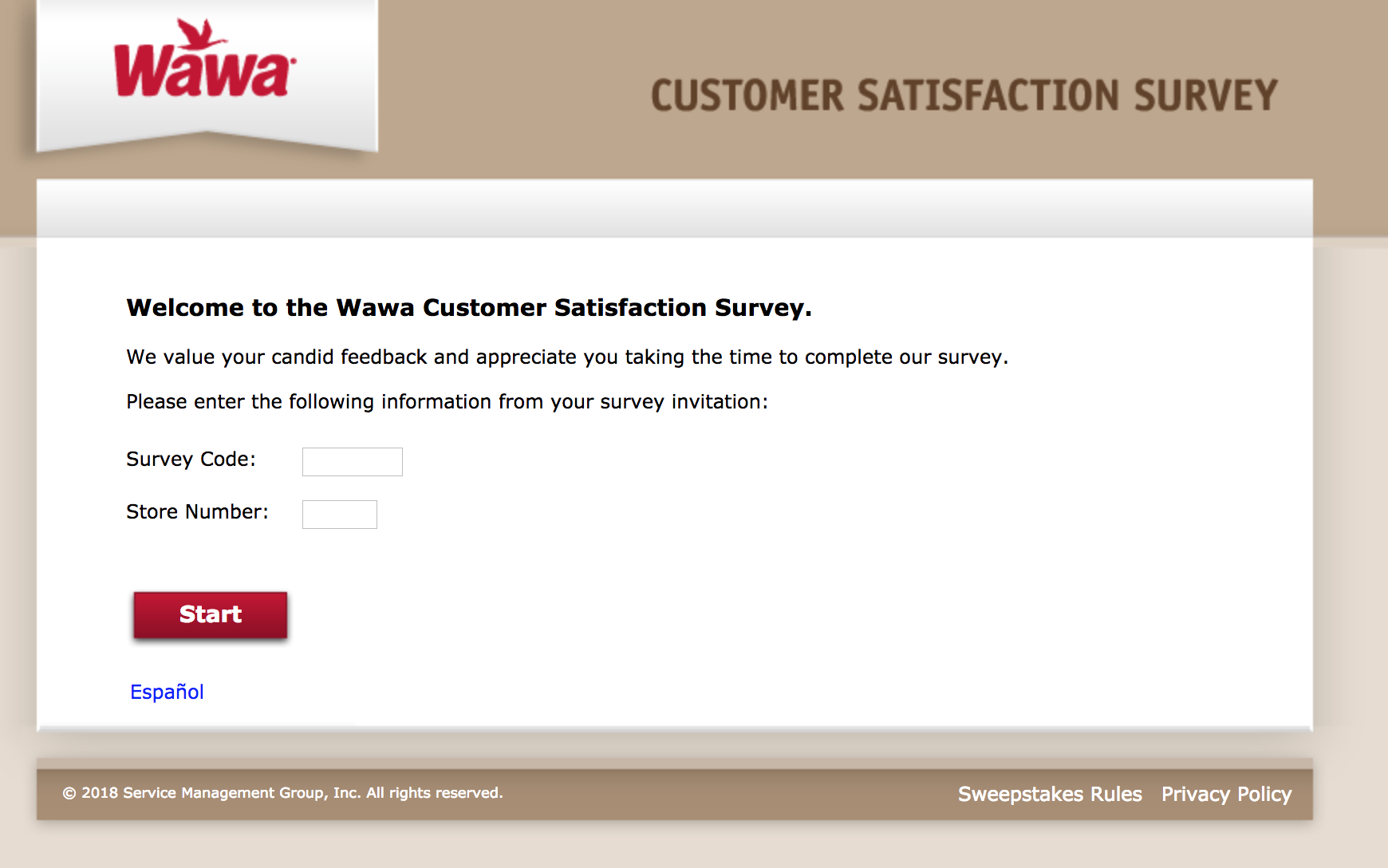 wawalistens survey homepage