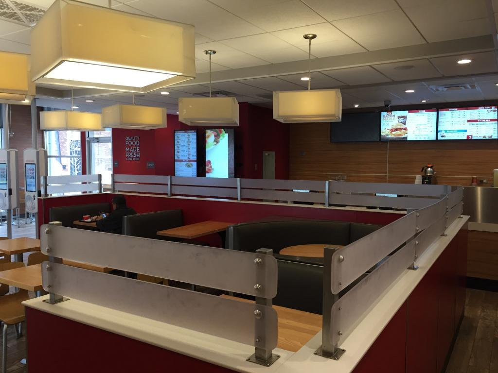 wendys booths