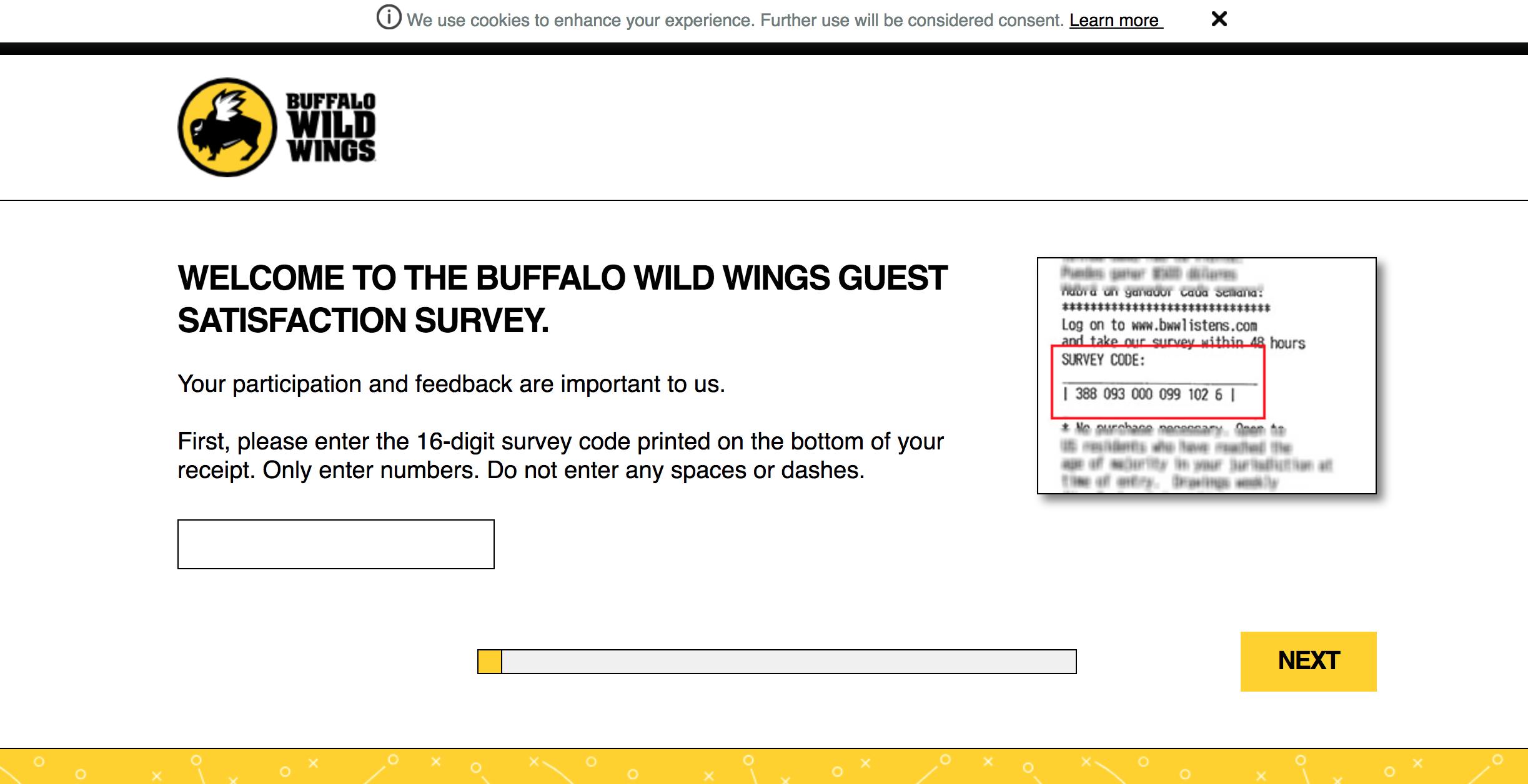 bwwlistens.com survey homepage