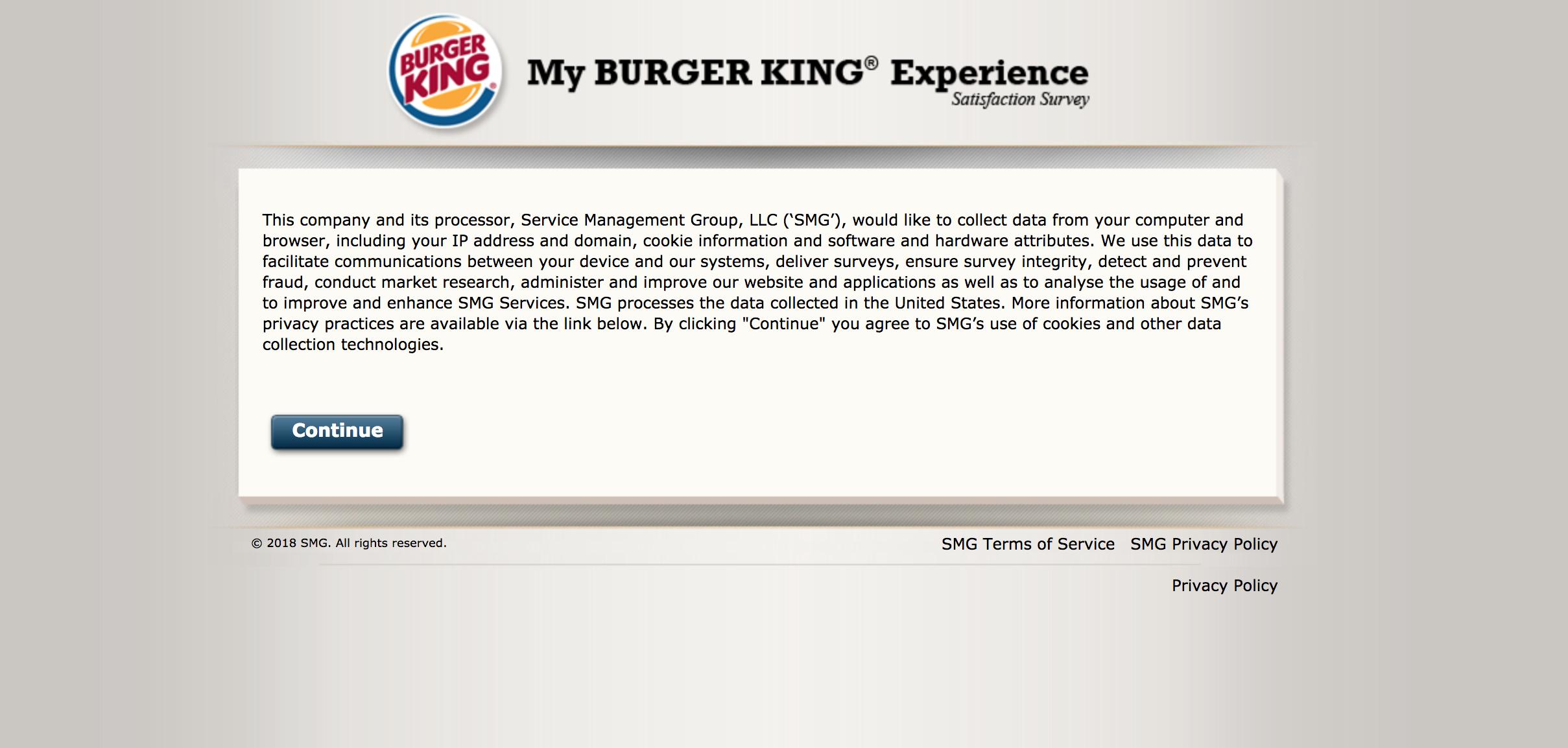 BK Feedback – Take Official UK Burger King® Survey – Free