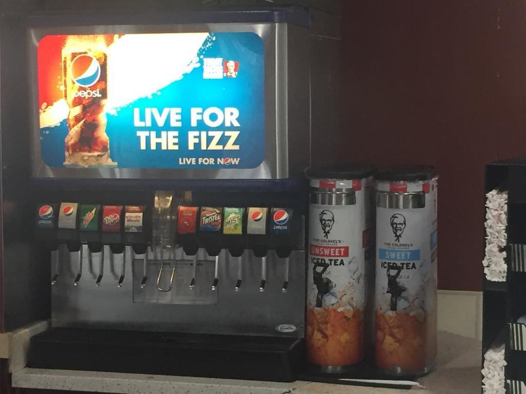kfc soda machine